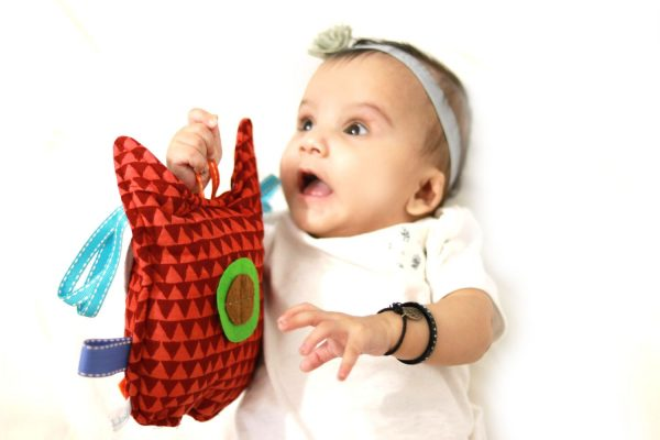 Taggy Toy - Sensory Toy - Baby Toy