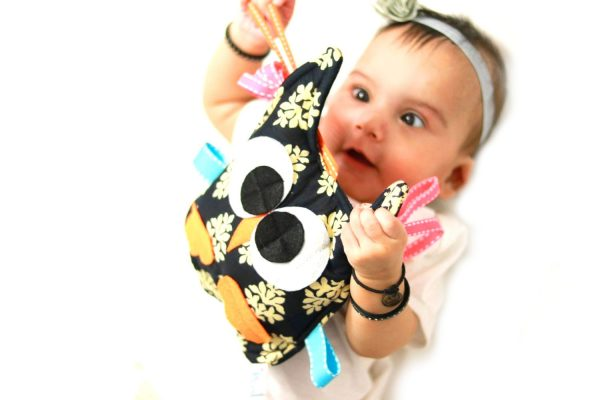 Sensory Taggy Toy baby