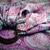 WS-006(1) cookiie woven ring sling - tuscan paisley - jacquard