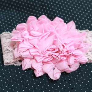 Cookiie Baby Headband Lace Pink