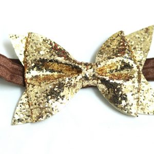 Cookiie Baby Headband Sparkle Gold