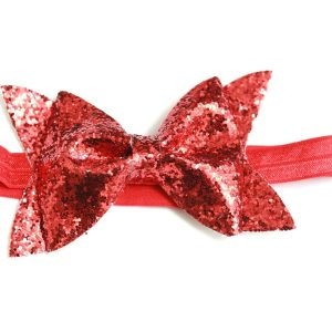 Cookiie Baby Headband Red Sparkle