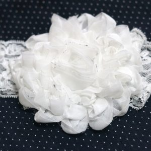 Cookiie Baby Headband lace white