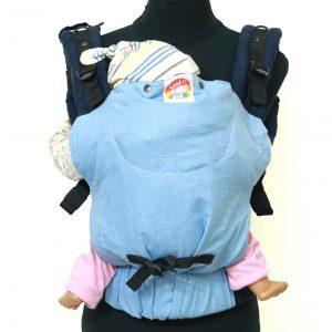 YOGA 5 (4) cookiie baby carrier linen sky blue