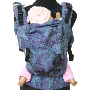 YOGA 9(4) cookiie baby carrier Jacquard Blue Tuscan Paisley