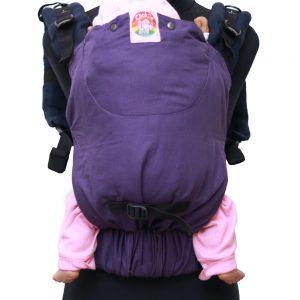 Cookie Ergonomic Linen Baby Carrier - Purple