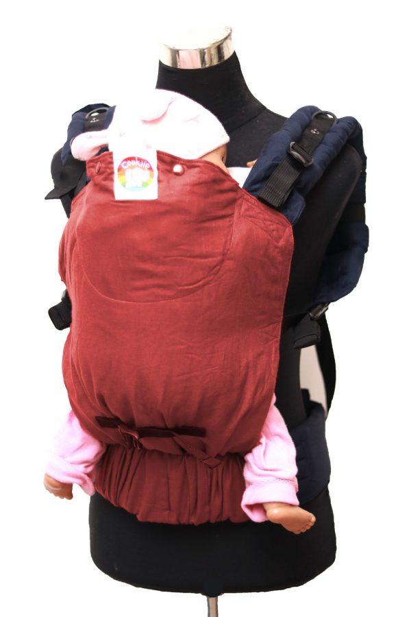 Cookie Ergonomic Linen Baby Carrier - Rust