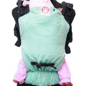 Cookie Ergonomic Linen Baby Carrier - Blue