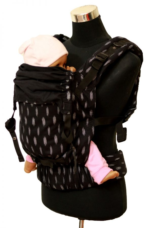 Ergonomic baby Carrier - Black