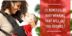 15 benefits of Babywearing
