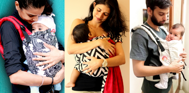 Different types of baby carriers in India