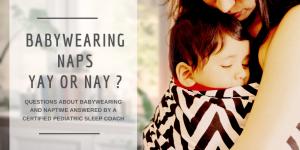 Babywearing naps