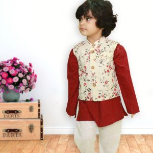 A-Maroon-Kids-Kurta-Pyjama-4
