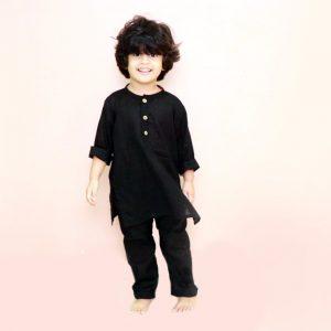 D-Black-Boys-Kurta-Pyjama-3